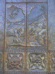 bomerano porte église