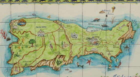 Capri kaart