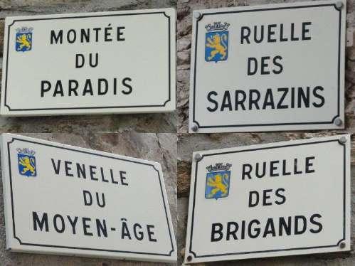 Bormes - straatnamen