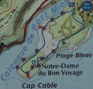 Kaartje Calanque de Port Miou