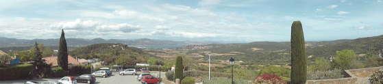 Gassin - promenade
