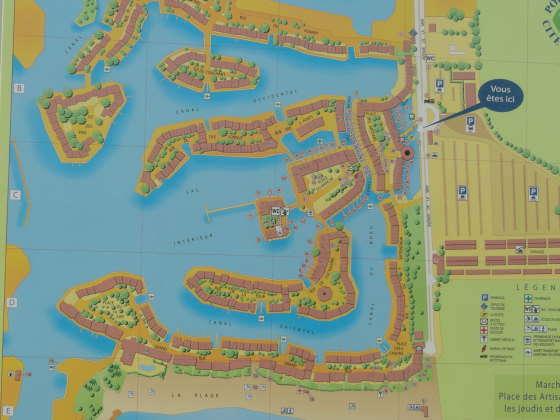 Port Grimaud - kaart