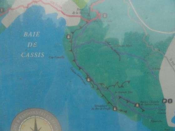 Kaart - Route des Crêtes