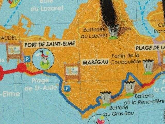 Kaartje Port de Saint-Elme