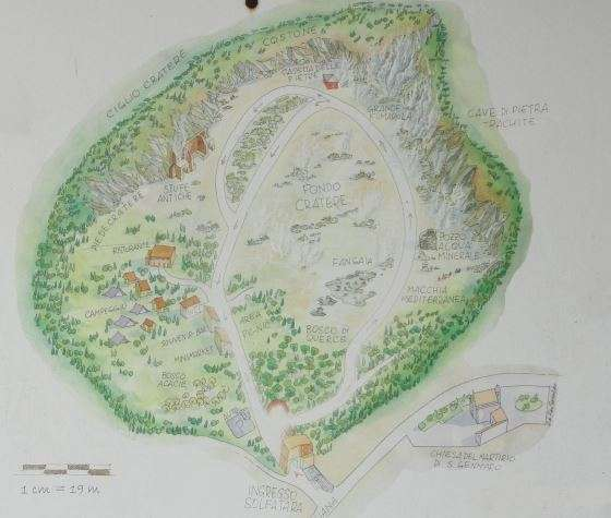 map solfatara