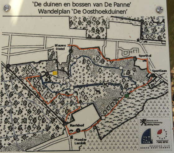 Wandelplan 'De Oosthoekduinen'