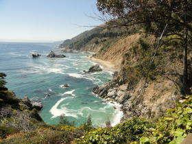 Big Sur kustlijn