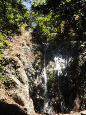 Pfeiffer Big Sur State Park - waterval