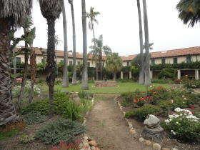 Santa Barbara - binnenkoer Mission
