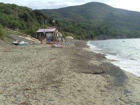 Baia di Trentova strand