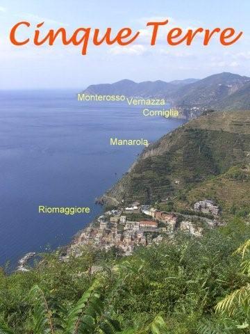 cinque terre - kust met 5 dorpen