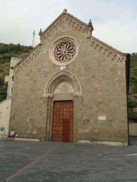 Manarola - Chiesa di San Lorenzo