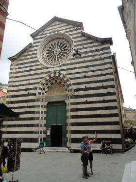 Monterosso chiesa Gian Battisto