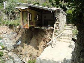 Schade na de overstromingen