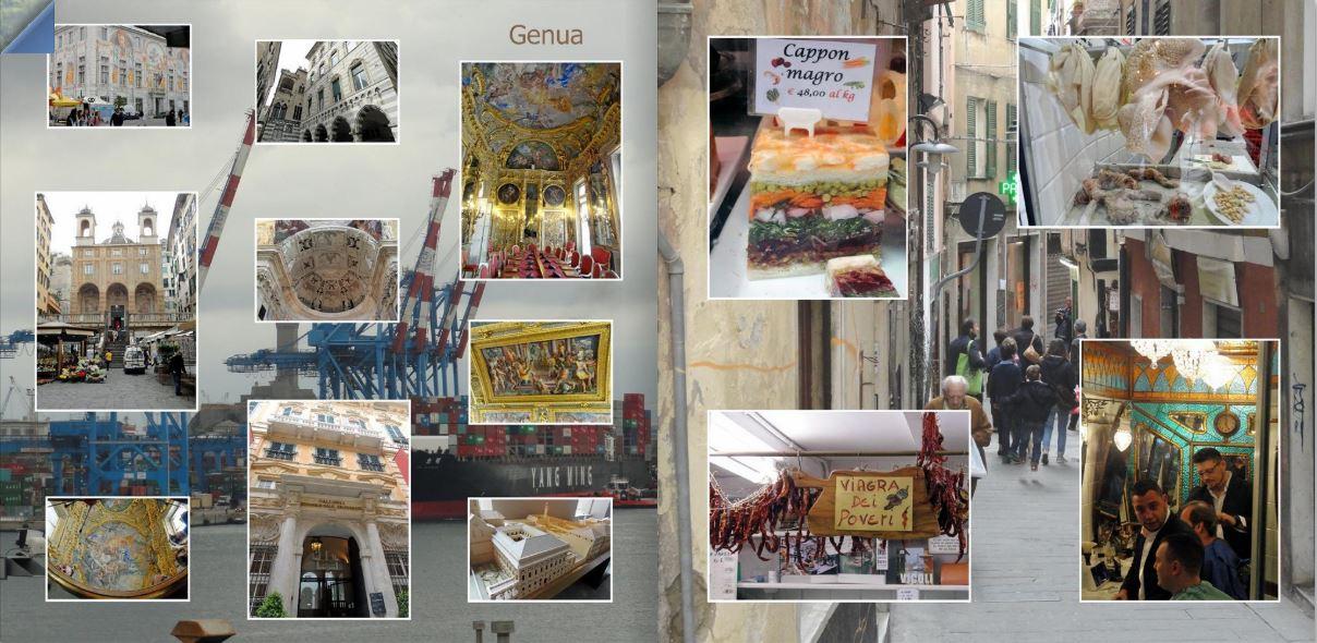fotoboek Genua
