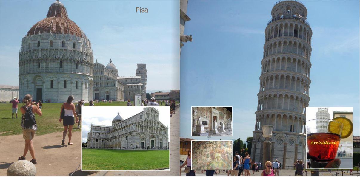 fotoboek Pisa