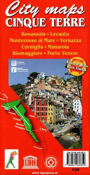 City Maps Cinque Terre
