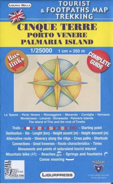 Wandelkaart Cinque Terre