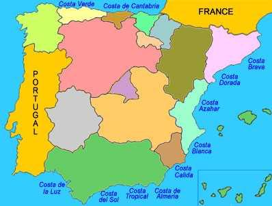 Kaart Costas