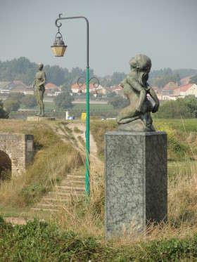 Gravelines - Beeldenpark Kasteel