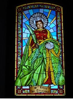 Vitrail Santa Lucia