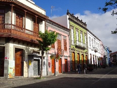 Maisons colorés