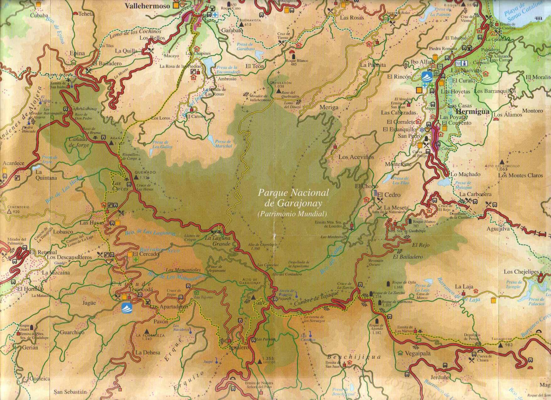 Kaart Jaragonay