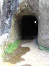 Tunnel op de PR1 Madeira