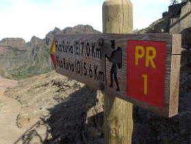 PR1 Pico do Ariero Madeira