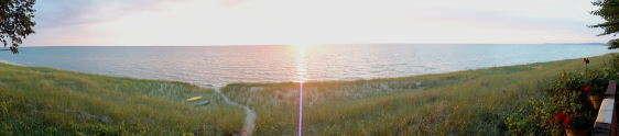 Lake Michigan in Arcadia