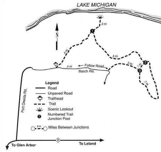 Pyramid Point kaart