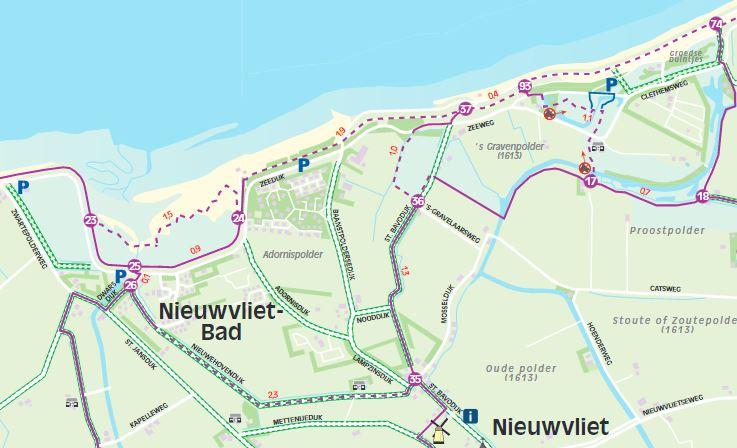 Wandelen in Nieuwvliet