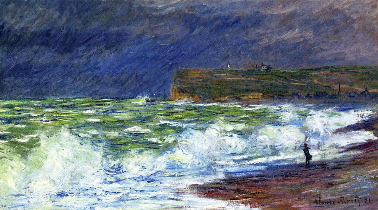 Monet - de zee bij Fecamp