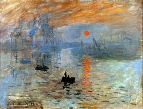 Monet - impression soleil levant