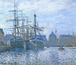 Monet - le port de commerce
