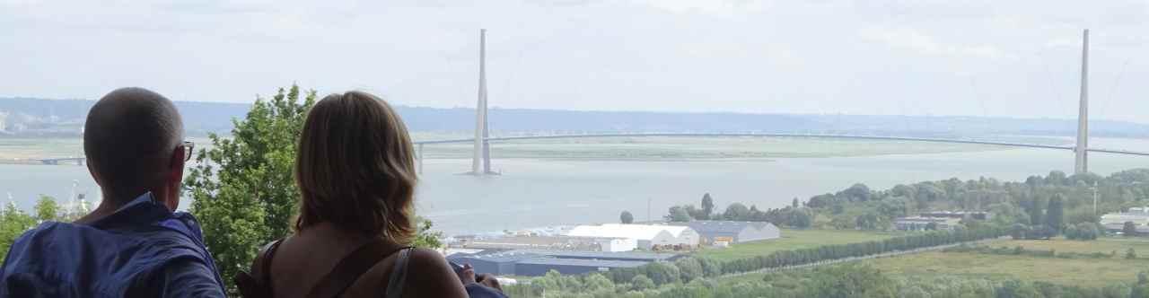 Normandie pont de