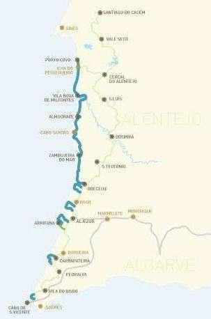 Carte Sentier des Pêcheurs