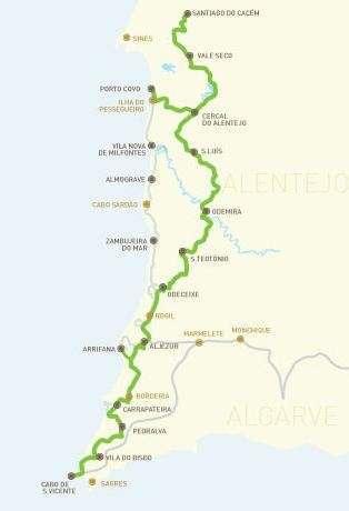 Carte Sentier Historique