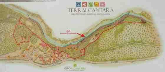 Alcantara kaart