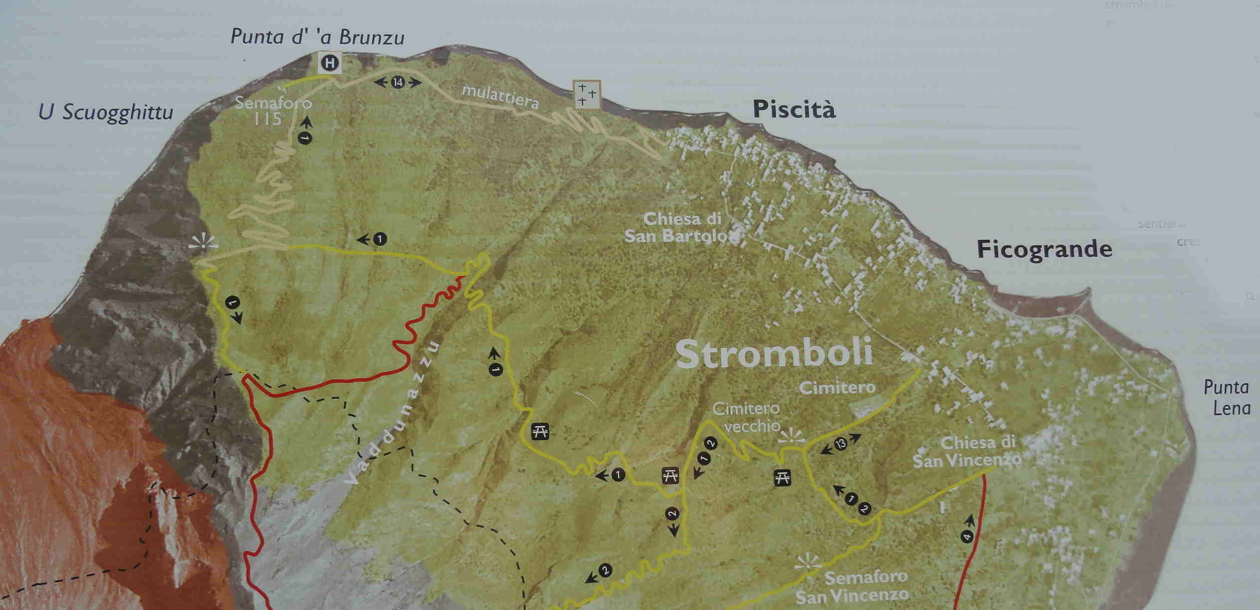 Stromboli Wandelen